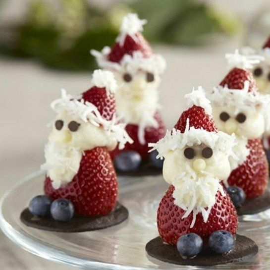 Fresh Strawberry Santas: Amazing Christmas Day Treats - mom.me