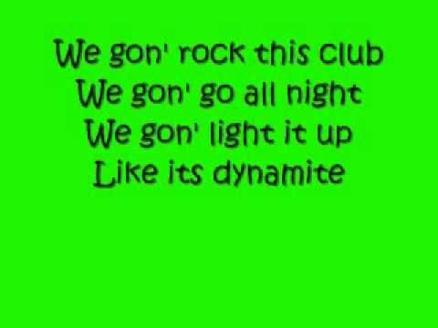 dynamite- taio cruz ... I like that we're celebrating without any bad words and bad meanings. It's just a party.