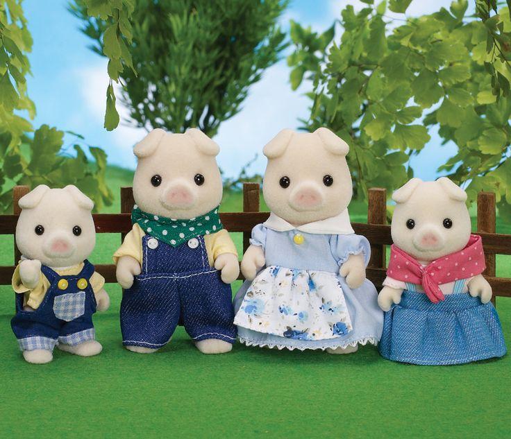 Buy Grunt Pig Family online, - Sylvanian Families