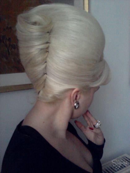 1960s Beehive Hair