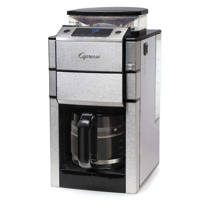 Capresso Coffee Team Pro Plus Coffee Maker with Glass Carafe - 487.05