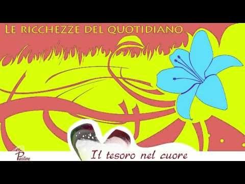 Le RICCHEZZE del QUOTIDIANO Testi di Anselm Grun.  VIDEO-RIFLESSIONE