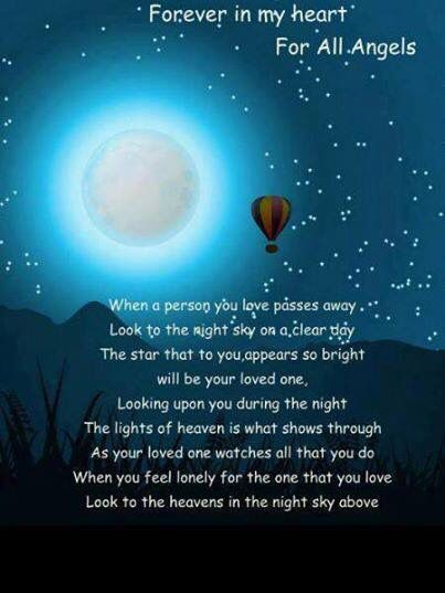 I do this most days and I see a star shining at me... Amma... miss you always ... ummma