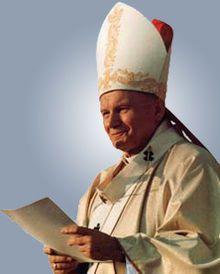 Juan Pablo II-  Juan Pablo II.Karol Józef Wojtyła(Wadowice, Polonia, 18 mayo1920 –  Vaticano, 2 de abril de 2005), fue el 264º papa de la Iglesia católica.Desde el 16 de octubre de 1978 hasta su muerte en 2005.     Es    el primer papa polaco en la historia, Su pontificado de casi 27 años ha sido el tercero más largo en la historia de la Iglesia católica, después del de San Pedro (38) y el de Pío IX (31 años).      donde combatió enérgicamente a la Teoría de la Liberación con Ratzinger