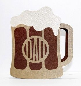 Dad Beer Mug Card - Free Cut Files