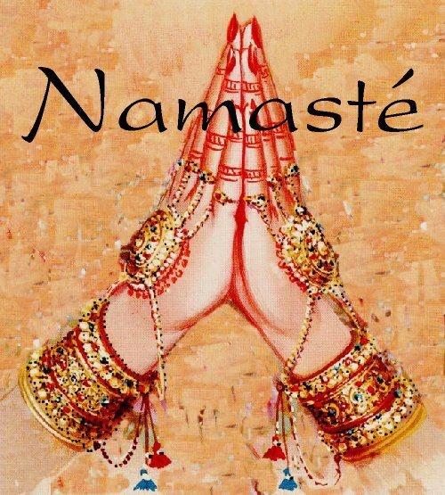 Namaste ~♥~ debs #Buddha #Buda #Namaste