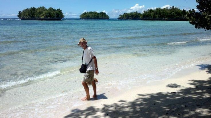 Beach on Gam Island
