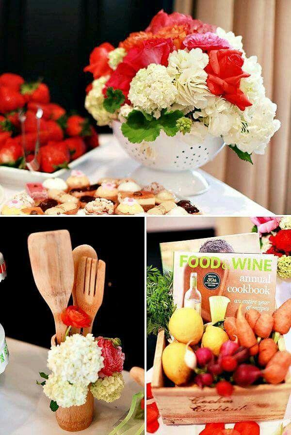 Kitchen Shower Ideas 17 best centro de mesa para despedidas de solteras images on