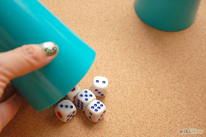 How to play Liars Dice.