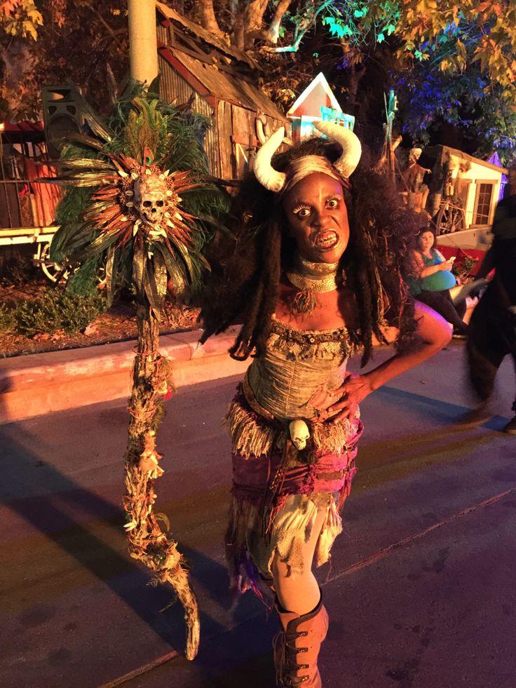 Voodoo Priestess High Priest or Priestess Headpiece Witch