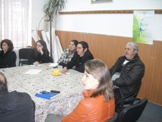 CĂIUȚI și GĂRLENI județul BACĂU – Seminar pentru formare de formatori, educație ecologică