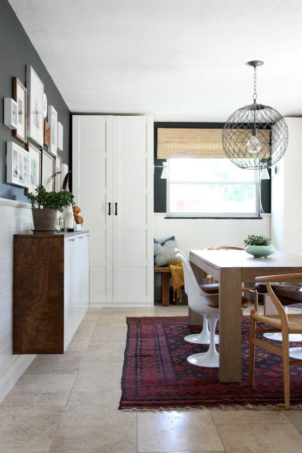 wardrobes ikea pax units with bergsbo doors fauxdenza diy featuring akurum wall cabinets gray wallsblack wallsdining room. beautiful ideas. Home Design Ideas