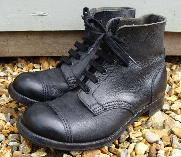 1954 British Army Hobnail Parade Boots Made by Crockett Jones