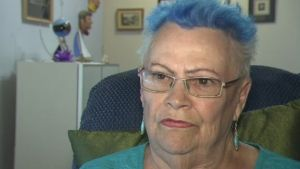 Edlerly woman's wheelchair stolen