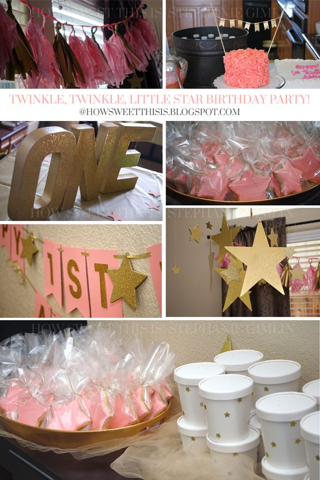 Twinkle Twinkle Little Star Party birthday! I am sharing how we brought this party to life with all of the details as well as an invitation for purchase.