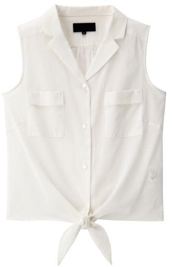 ShopStyle(ショップスタイル): UNTITLED 前結びノースリーブシャツ