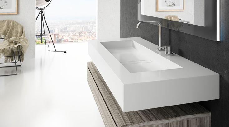 mesada baño silestone - Buscar con Google