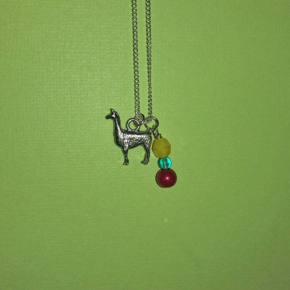 Disney's Emperor's New Groove -Kuzco Inspired necklace - Llama Face