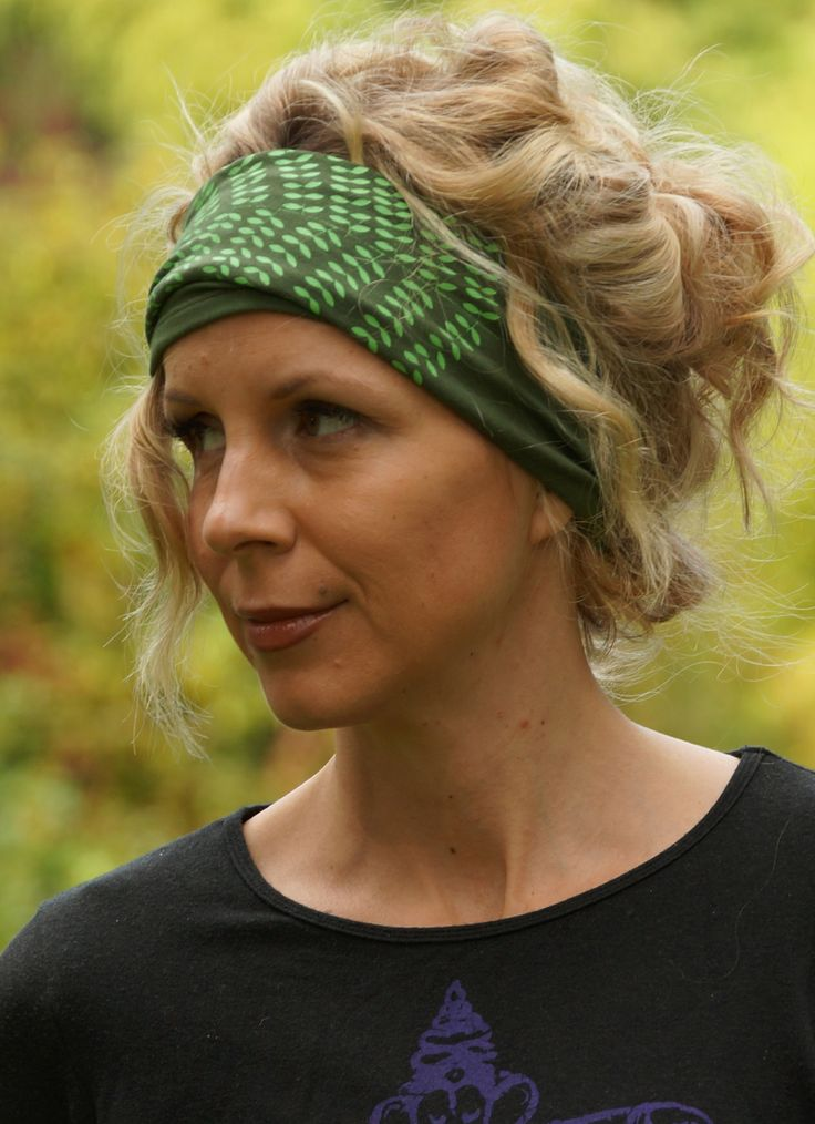 Fern Forest Hairband from Squeezed Yoga Clothing http://squeezed.ca/shop/fern-forest-hairband