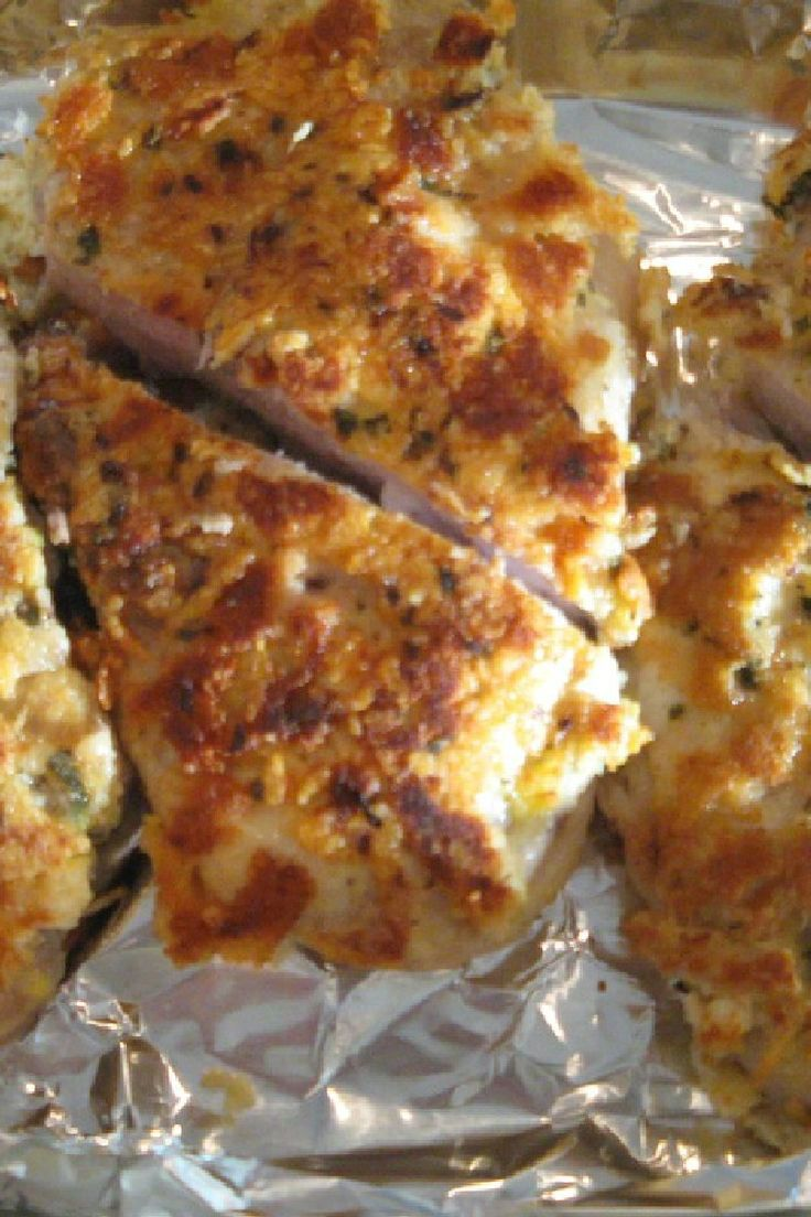 Mouth Watering Foods: Caesar Pork Chops - So good and so easy! I made this tonight and we loved it!!