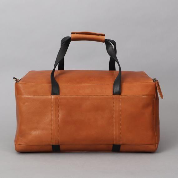 Leather Duffel Bag Travel Bag For Men Leather Duffle Bag Etsy Leather Duffel Bag Leather Duffel Mens Travel Bag