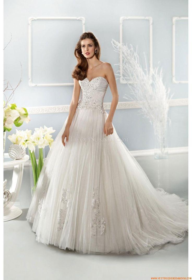 241 best summer bridal gowns images on Pinterest | Wedding frocks ...