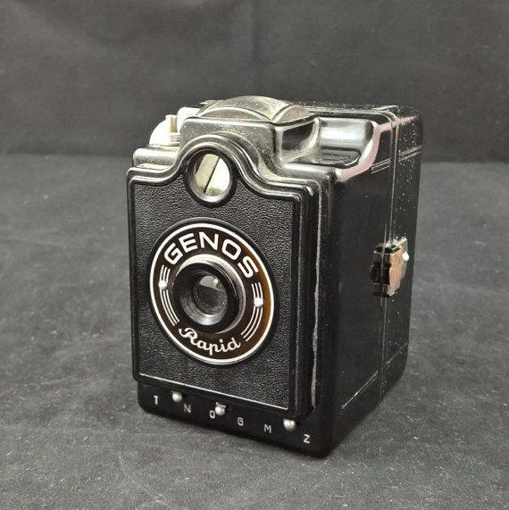 Genos Rapid Genos cameravintage camerabox by SmalandVintage