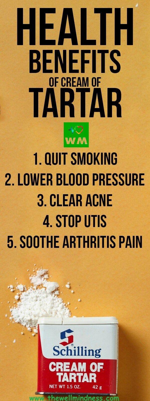 Health Benefits Of Cream Of Tartar - The Wellmindness