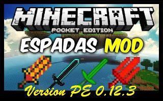 SUPER ESPADAS MOD PARA MINECRAFT PE 0.12.3 APK Mods