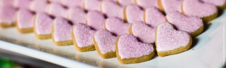 Heart-shaped cookies!: Heartshap Cookies, Wedding Catering, Heart Cookies, Events, Heart Shap Cookies, Wolfgang Puck, Puck Catering, Beaches Houses, Hold Wedding Ideas