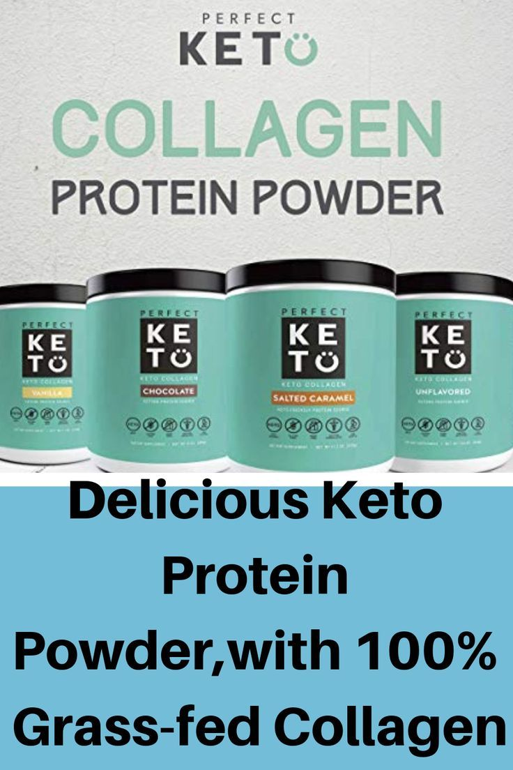 Delicious Protein Powder With Collagen Perfect For Keto Contains 100 Grass Fed Collagen Peptides From Perfect Keto Collagen Protein Powder Collagen Peptides
