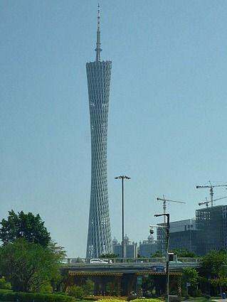 The Canton Tower, Guangzhou China