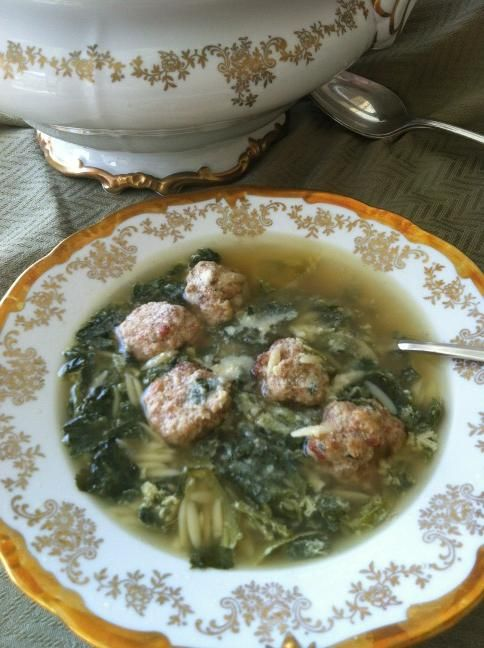 To add to the Holiday Menu this year or not? Italian Wedding Soup