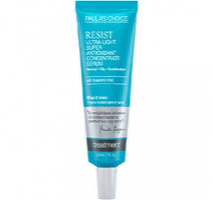 Paulas Choice Resist UltraLight Super Antioxidant Concentrate Serum 1 oz | SHOP @ BodyConcept.com