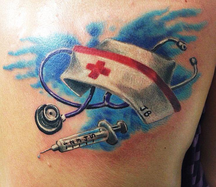 Nurse Tattoo by Figtastic
