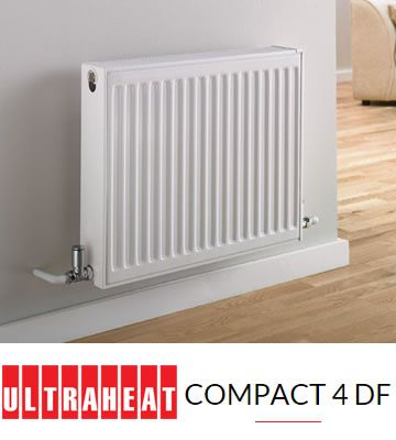 Ultraheat Compact 4 DF 600mm High Radiators | 6DF | Central Heating Radiators