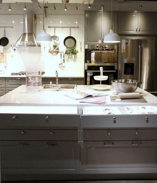 17 best images about ikea kitchens on pinterest sarah richardson islands and open shelving - Ikea island ideas ...