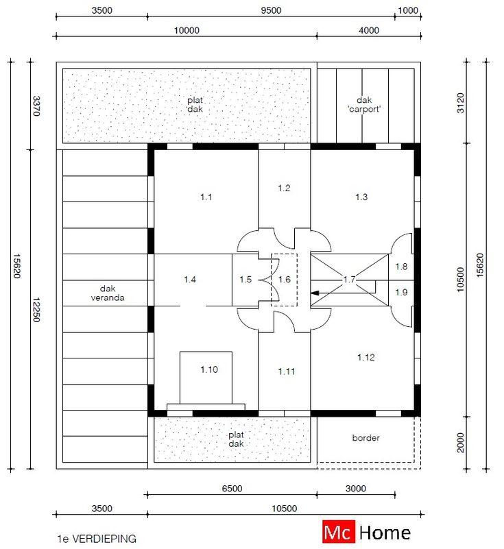 Mc-Home.nl M91 duurzame energieneutrale woning moderne bouwwijze en bouwstijl staalframebouw