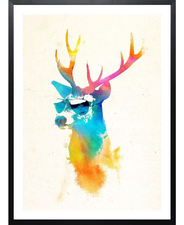 Sunny deer VON Róbert Farkas now on JUNIQE!