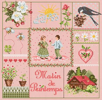 click here to view larger image of Matin de Printemps (chart)
