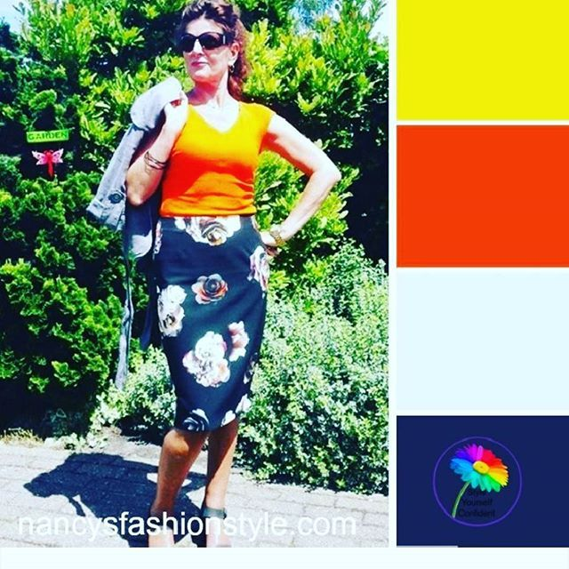 Look what Pamela of  @styleyourselfconfident made! Thanks! #coloranalysis #colorpalette #over50style #over50fashion #fashionista #fashionblogger #whatiamwearing #fashiongram #aboutalook #lookoftheday #style #imageconsultant #fabulousafther50 #realoutfitgr