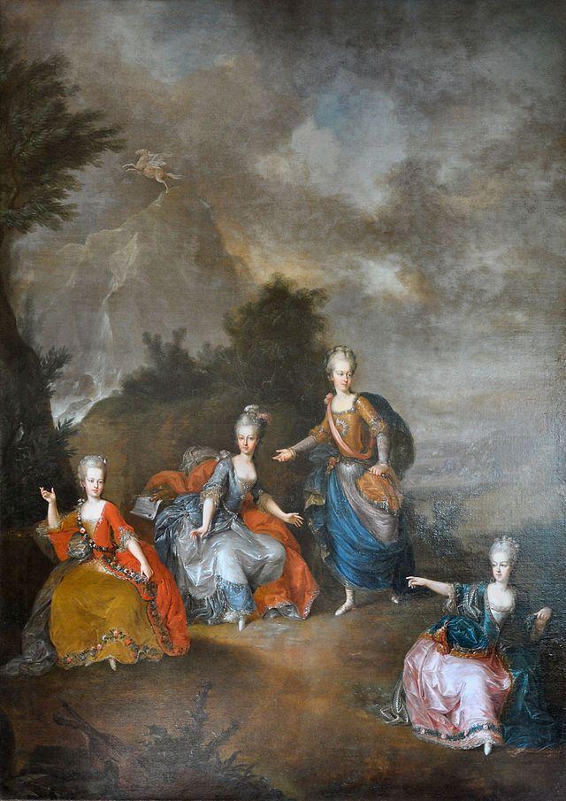 Il Parnasso Confuso - Château du Petit Trianon — Wikipédia