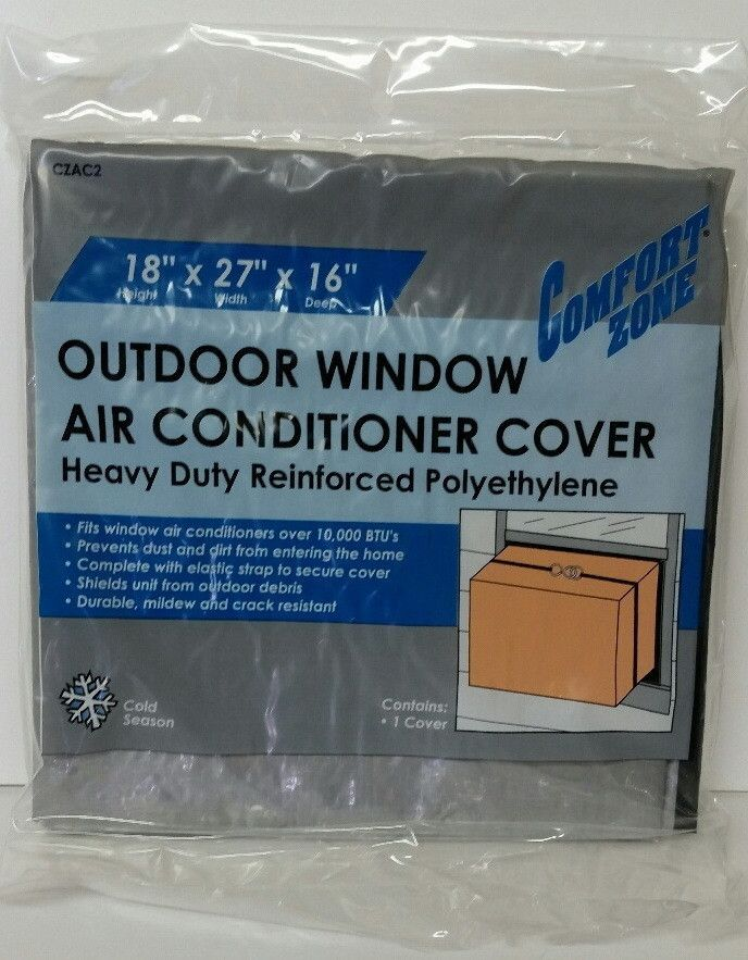 outdoor window air conditioner cover - small Case of 24