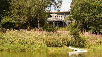 """Das """"Seehaus"""" - das besondere Ferienhaus im Harz für 10 Personen mit Sauna und Kamin"""