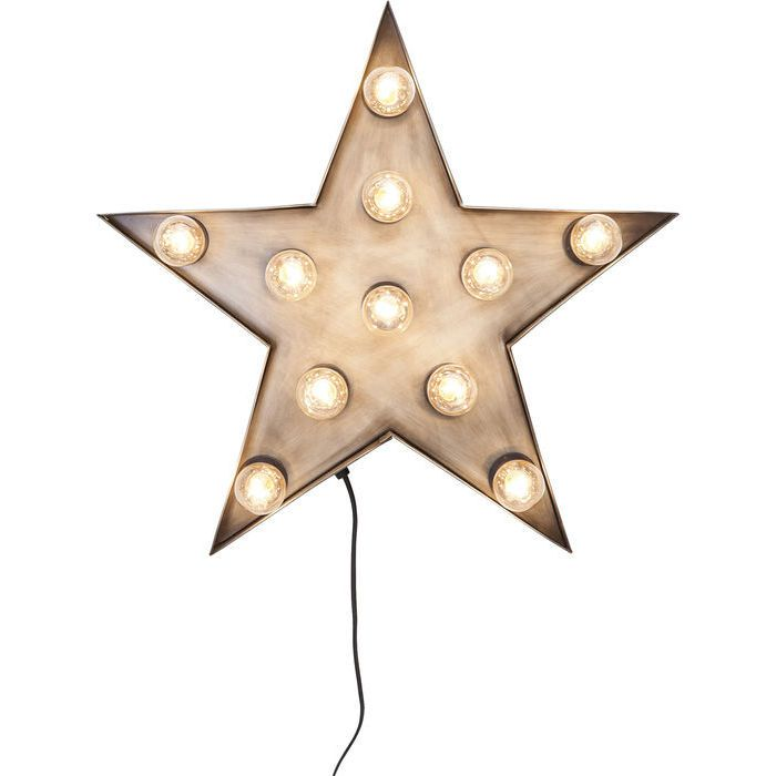 Semn Luminos Star 11-Becuri - KARE Design
