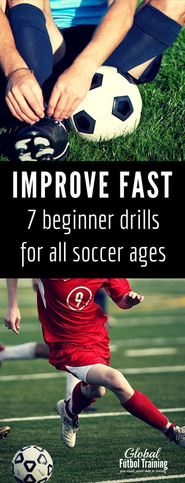 Here are 7 ways to help your child improve their soccer game. These soccer tips are great for beginning soccer players and will help your youth soccer players be the best players they can be!  Pays special attention to soccer foot work and the mind-foot c #soccertips