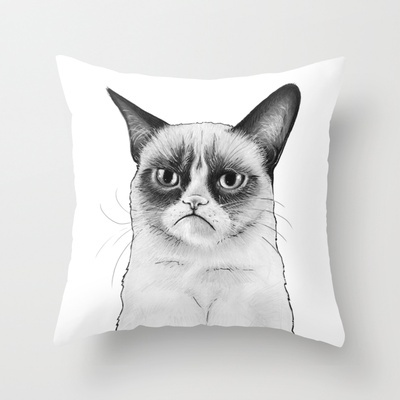 how to draw a cat 18 best throw pillows images on toss pillows 6776