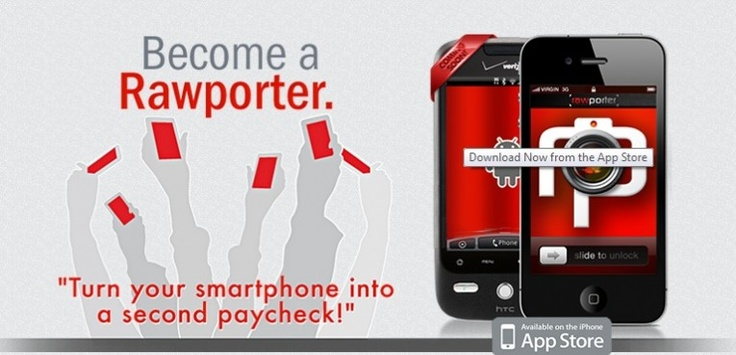 Does This App Take Citizen Journalism Too Far? Web