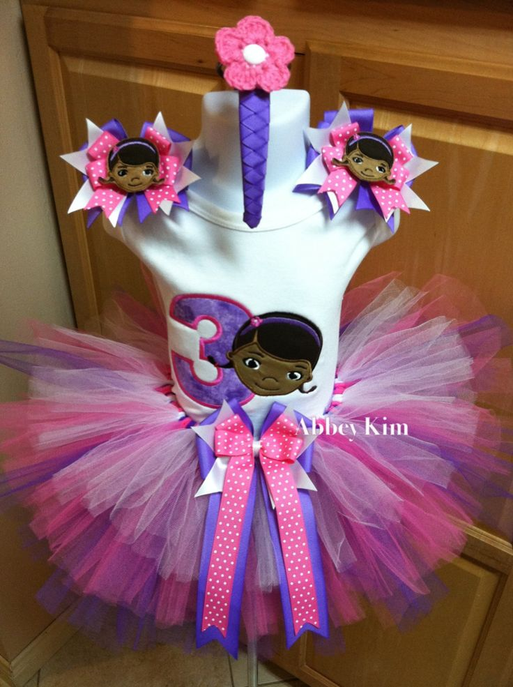 doctor mcstuffins | Doc McStuffins tutu set by Abbeykim1 on Etsy