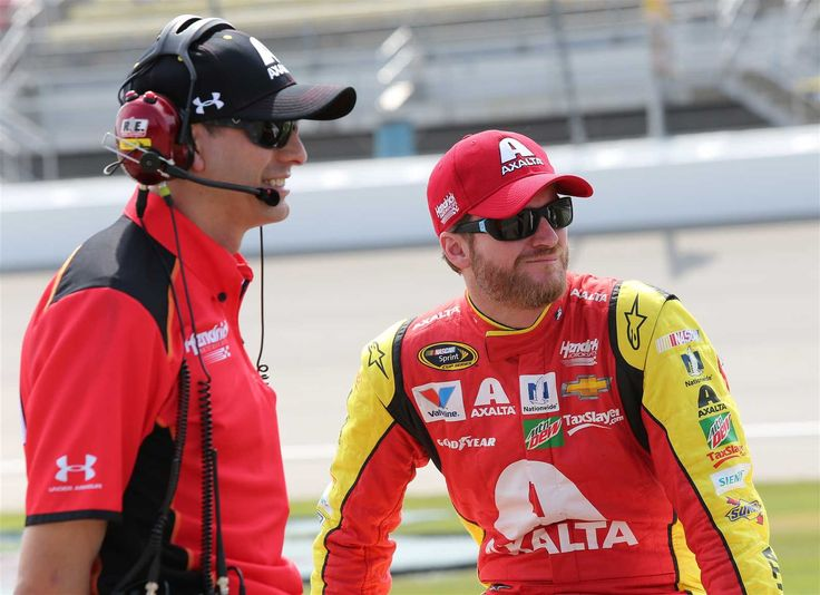 """What they're saying: Reaction to Dale Jr. news  -   Friday, July 15, 2016  -   Greg Ives, crew chief:     """"Really the first thing that comes to mind has nothing to do with championship, wins or the racing side of it. It's always understanding what Dale is going through, which I can't because I have never been through that, but just making sure that he gets better, supporting him and his decision. It takes a lot to come out and address some of the health concerns that he...  More..."""